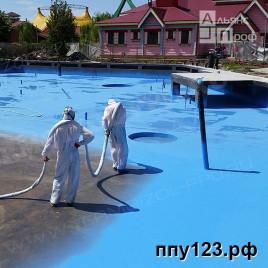 Гидроизоляция бассейнов и фонтанов