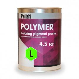 Пигментная паста Polymer L зеленая 4,5 кг.