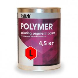 Пигментная паста Polymer L красная 4,5 кг.