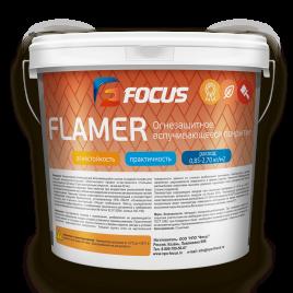 Огнезащитная краска FOCUS FLAMER 10кг