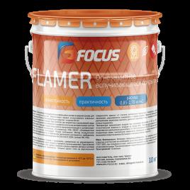 Огнезащитная краска (зимняя) FOCUS FLAMER S 10кг