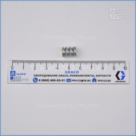 117491 Пружина патрона (картриджа) бокового уплотнения