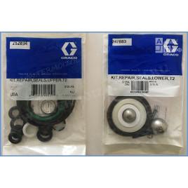 24X056 Полный ремкомплект насоса Graco T2 (262034 и 247883)