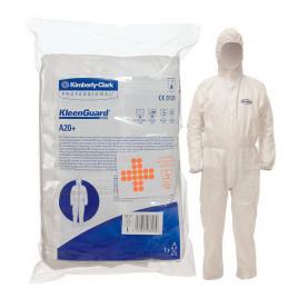 Комбинезон защитный Kimberly-Clark Professional 95200 Kleenguard A20 с капюшоном белый