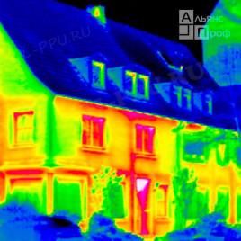 Энергоаудит дома с помощью тепловизора - обследование теплопотерь, определение утечек тепла