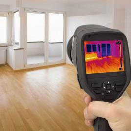 Энергоаудит квартиры с помощью тепловизора - обследование теплопотерь, определение утечек тепла
